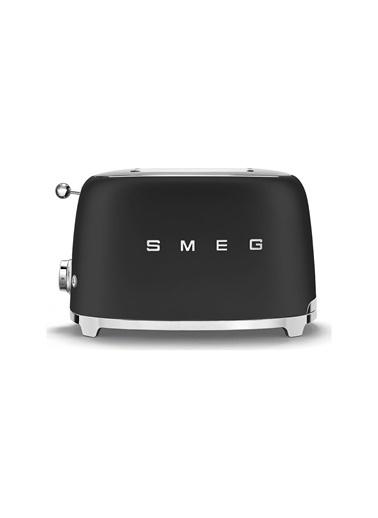 Smeg Mat Siyah 1x2 Ekmek Kızartma Makinesi Renkli